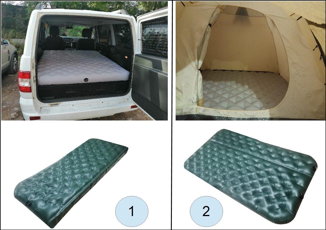 Надувные матрасы в автомобиль и палатке