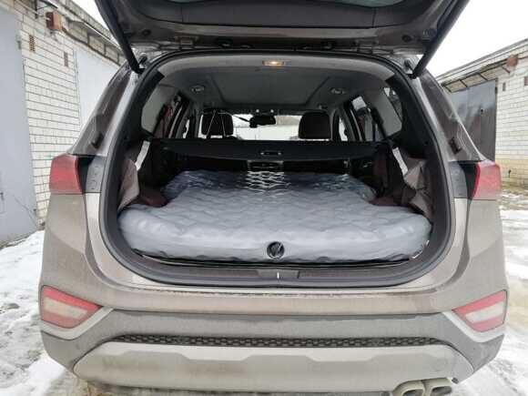 Надувной матрас в багажник автомобиля Hyundai Santa Fe